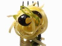 Pasta mit schwarzen Oliven Rezept