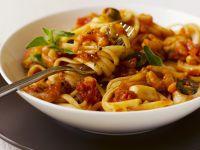 Pasta mit Shrimps-Tomaten-Sauce Rezept