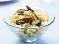 Pasta mit Spargel und Mozzarella Rezept