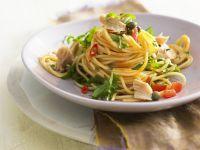 Pasta mit Thunfisch und Kapern Rezept