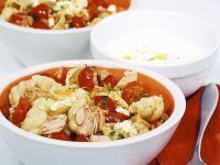 Pasta mit Thunfisch und Kirschtomaten Rezept