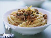 Pasta mit Thunfisch-Zitronen-Soße Rezept