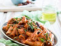 Pasta Puttanesca mit Thunfisch Rezept