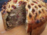 Pastete mit Reh und Cranberries Rezept