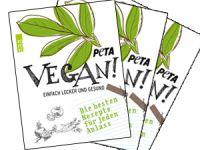 Schürze statt nackter Haut: das vegane Kochbuch von PETA