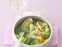 Pfannkuchen-Gemüse-Suppe Rezept