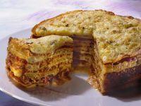 Pfannkuchen-Hackfleischtorte Rezept