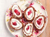 Pfannkuchen mit Creme-Cranberry-Fülllung Rezept