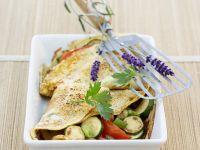 Pfannkuchen mit Gemüse Rezept