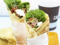 Pfannkuchen mit Hackfleisch-Füllung Rezept