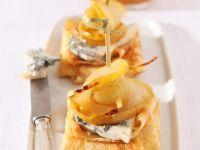 Pfannkuchen mit Käse