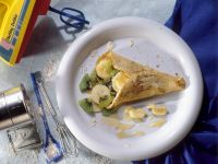 Pfannkuchen mit Obstfüllung Rezept
