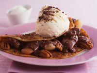 Pfannkuchen mit Schoko-Nussfüllung Rezept