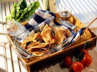 Pfannkuchen mit Spinatfüllung Rezept