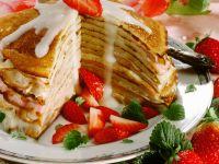 Pfannkuchen-Torte Rezept