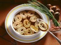 Pfannkuchensuppe Rezept