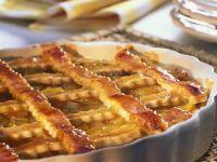 Pfirsich-Crostata Rezept