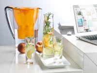 Pfirsich-Holunderblüten-Wasser Rezept