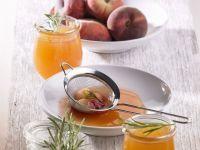 Pfirsich-Rosmarin-Konfitüre Rezept