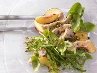 Pfirsich-Rucola-Salat Rezept