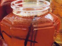 Pfirsichgelee mit Wein und Vanille Rezept