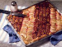 Pflaumen-Apfelkuchen Rezept