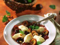 Pflaumenkompott mit Grießklößchen Rezept