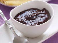 Pflaumenmarmelade mit Kakaopulver Rezept