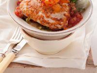 Piccata mit Huhn und Tomatensoße Rezept