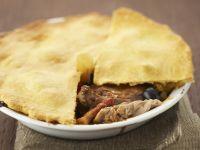 Pie mit Hähnchen und Oliven Rezept