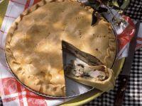 Pie mit Kaninchen und Gemüse Rezept