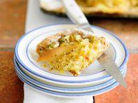 Pikanter Hefekuchen mit Sauerkraut