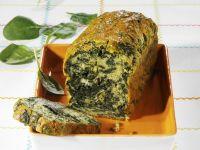 Pikanter Kuchen mit Spinat Rezept
