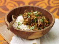 Pikantes Curry mit Lamm Rezept