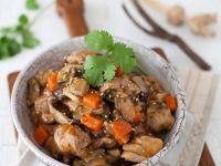 Pilz-Hähnchentopf Rezept