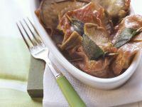 Pilz-Saltimbocca Rezept