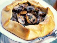 Pilz-Tarte Rezept
