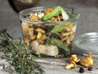 Pilze in Marinade Rezept