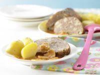 Pilzhackbraten in Rahmsauce Rezept