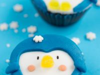 Pinguin-Cupcakes Rezept
