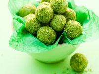 Pistazientrüffel mit grünem Tee Rezept