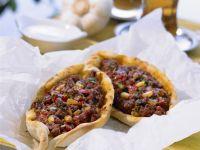 Pizza auf türkische Art mit Lammhack Rezept