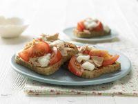 Pizza-Toast mit Thunfisch Rezept
