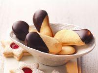 Plätzchen mit Marmelade und Schokolade Rezept