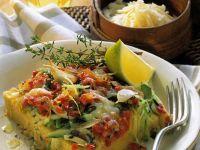Polenta-Gemüsekuchen Rezept