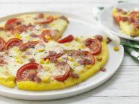 Polenta-Pizza Rezept