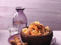 Pomelo-Hähnchen-Salat mit Tamarinden-Dressing Rezept