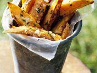 Pommes aus Süßkartoffeln Rezept