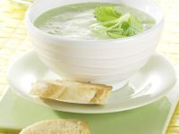 Porree-Zitronen-Suppe Rezept