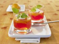 Prosecco-Gelee mit Blutorange Rezept